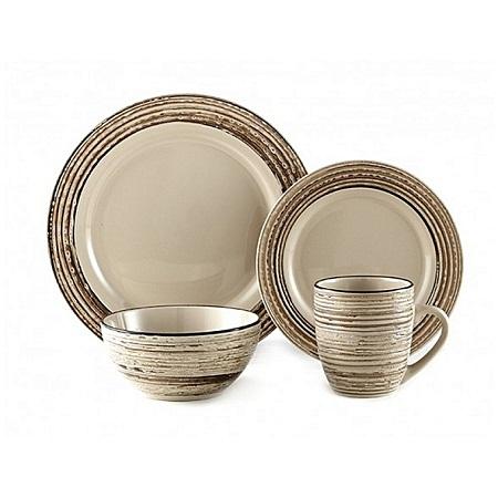 thomson pottery 16pc Birge Dinner set