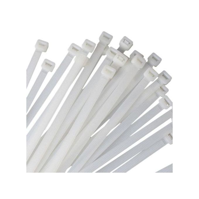Generic 200PCS Self-Locking Nylon Cable Ties Zip Wrap