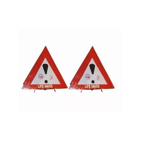 Generic Car Life saver Triangle - Metallic