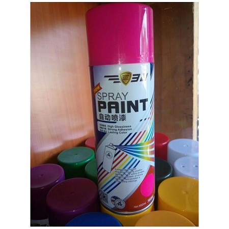 Generic Spray Paint Florescent pink