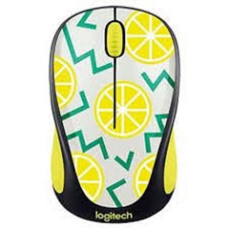 Logitech M238 Party Collection Mouse (Lemon Theme)