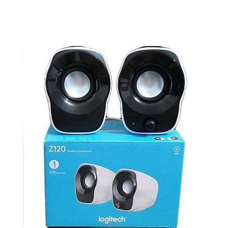 Logitech Z120 Stereo Speakers - White