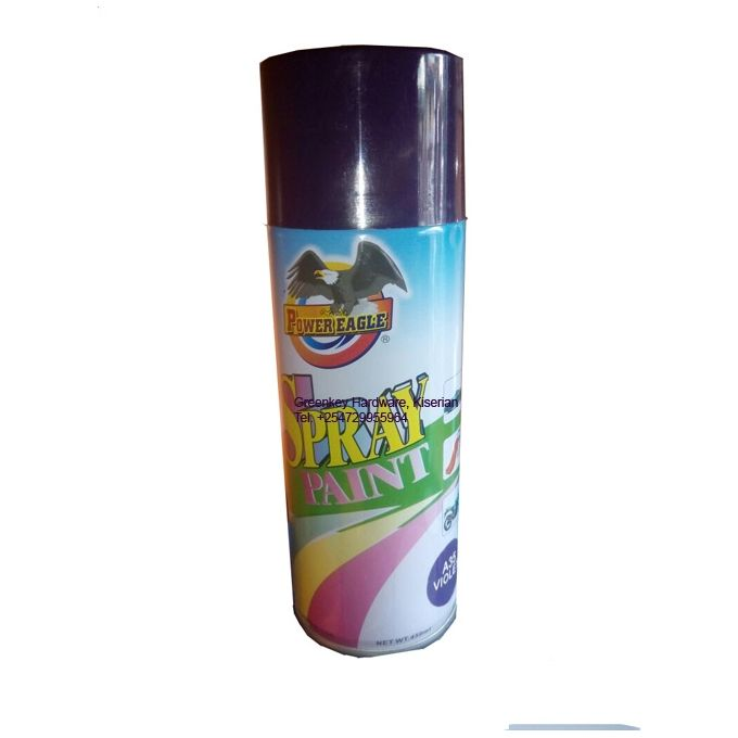 Power Eagle Spray Paint Violet