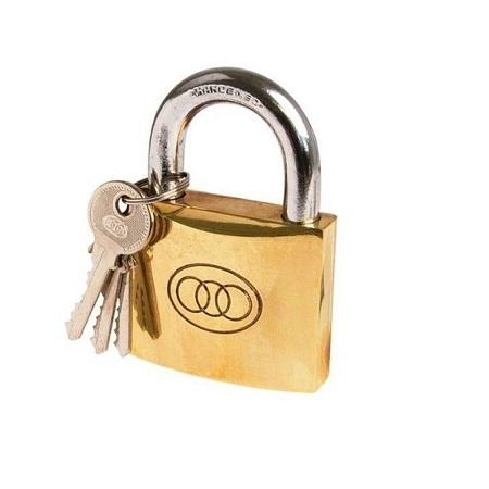 Tri Circle Padlock - Size 32mm NO 265 3 keys