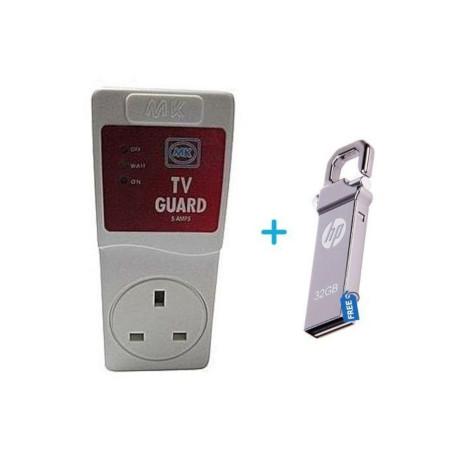 MK Electronics TV Guard + Free HP V250w 32 GB Flash Disk