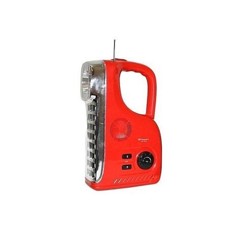 Kamisafe KM 7628F Radio & Rechargeable LED Emergency Lamp