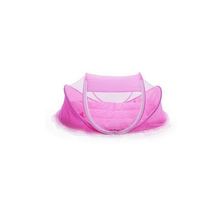 Happy Baby Portable Baby Cot Mosquito Net - Pink