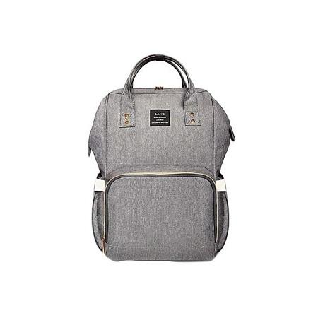 Generic Portable Baby Diaper Bag for Travel - Grey