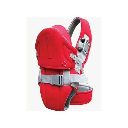Best and comfortable Baby Carrier With a Hood - Red