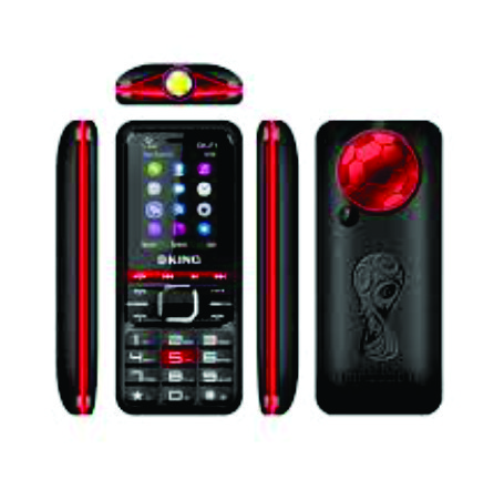 Oking348, Radio, Torch, 2050mAh-Black+Earphones