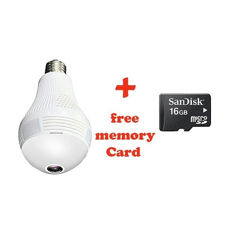 Panorama 1.3 mp 960P wifi Camera Mini Camera Home Security WiFi Camera Light Bulb Mini Security IP Camera