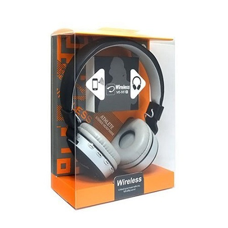 MS-881A Bluetooth Wireless Headphone for PC and all Smartphones