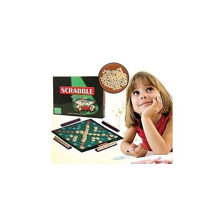 Scrabble Alphabetical Tiles Crossword Letters Board Game - English
