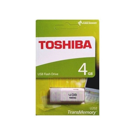 Toshiba Flash Disk - 4GB - White