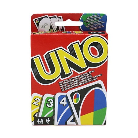 UNO Clipstrip Classic Card Game For All Ages