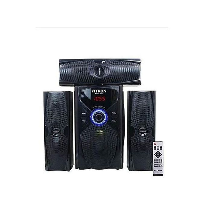 Vitron V635 3.1 HOME THEATER BUILT IN POWERFUL POWERFUL AMPLIFIER, SUB-WOOFER SYSTEM 3.1 CH 10000W