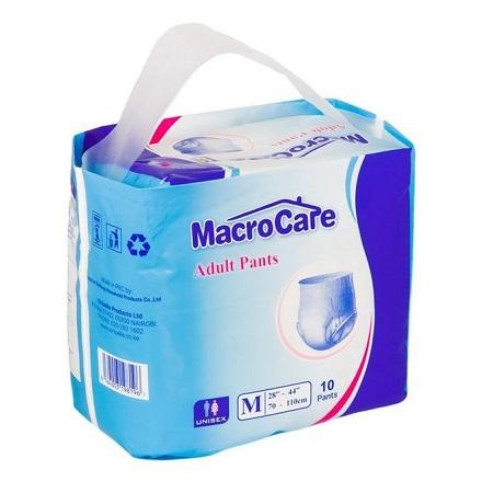 Macrocare Macrocare Unisex Adult Pants 10 Pieces