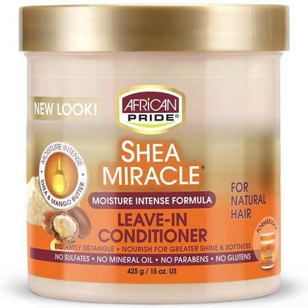 AFRICAN PRIDE Shea Miracle Moisture Intense Leave-in Conditioner