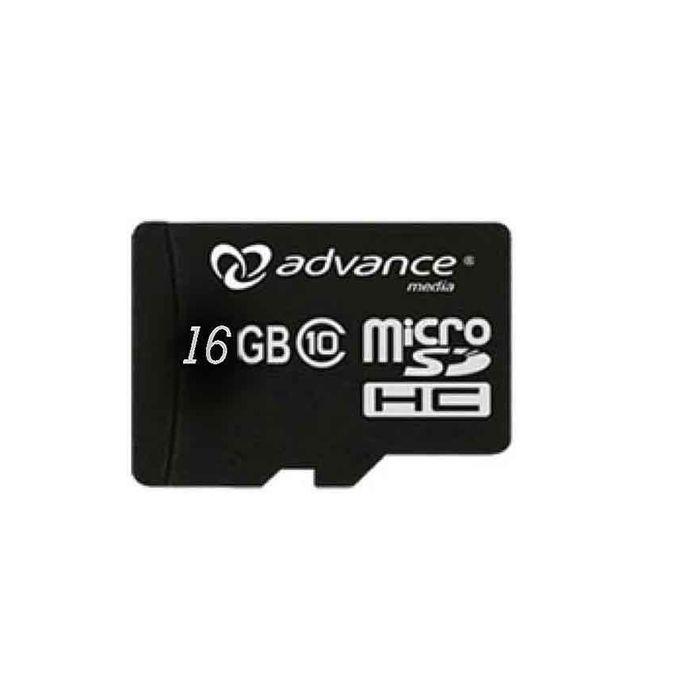 Advance Micro SD Card - 16GB Standard with Adaptor