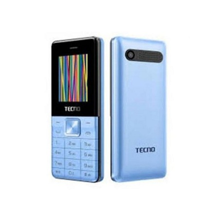 Tecno T301 Dual Sim - Gold With Memory Card Slot Upto 32 GB