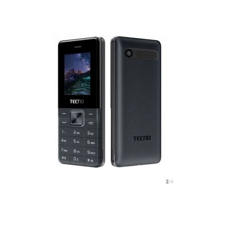Tecno T351 - (Dual Sim), Camera - Torch - FM Radio - 1900mAh, IMG _Black