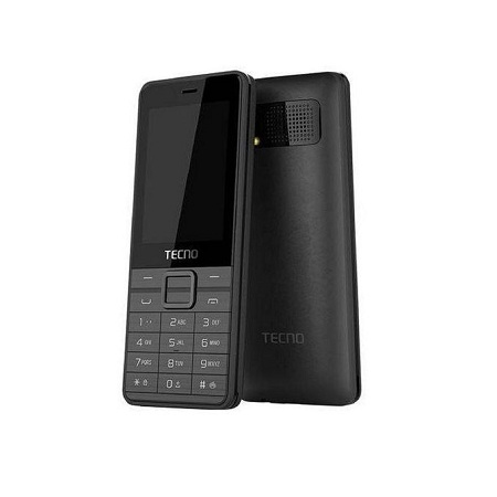 Tecno T402 - 3 SIM cards - --Wireless FM Radio - Black