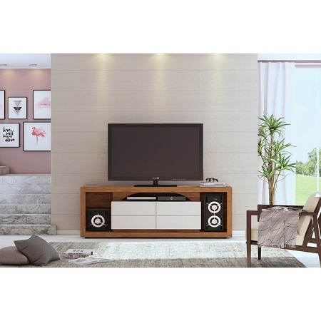 DJ Moveis TV Unit Stand , TV Rack Versa Ideal For 60 Inch TV