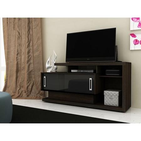 Fashion TV Rack For 50 Inch TV - Brown & Black