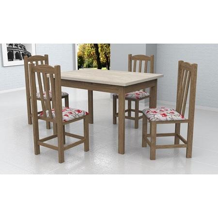 Meneghetti DINNING TABLE 1+4 INOVATA