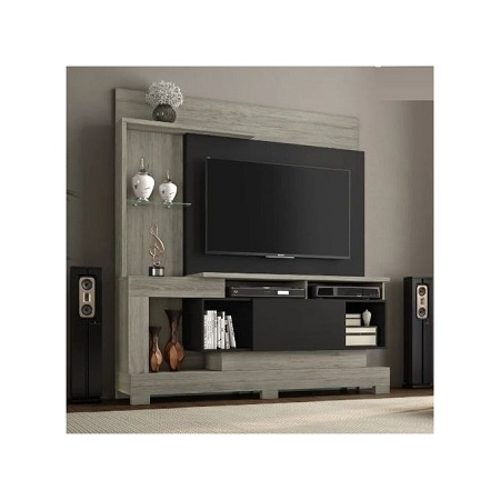 Notavel TV Wall Unit - TV Space Up To 50 Inch - Oak / Black