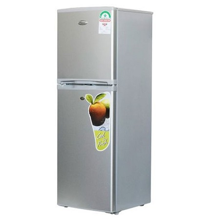 Super General SGR198HS - Double Door Refrigerator - 198L - Silver
