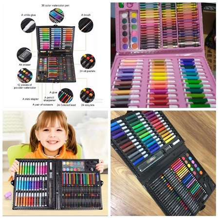150 pcs kids coloring set/art set