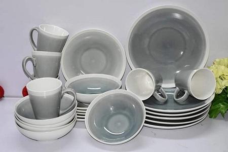 24 pcs ceramic dinner set