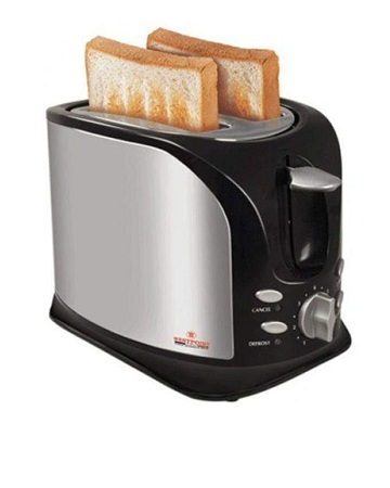 2 slice electric toaster