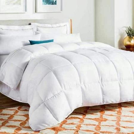 6*6 white warm comforter duvets