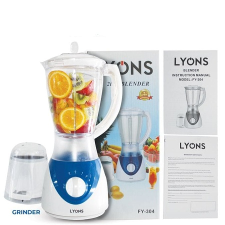 Lyons 1.5L professional blender with grinding machine