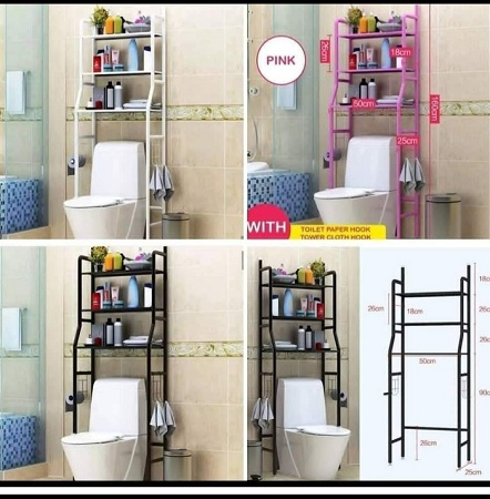 Over the Toilet stand organizer/ bathroom organizer