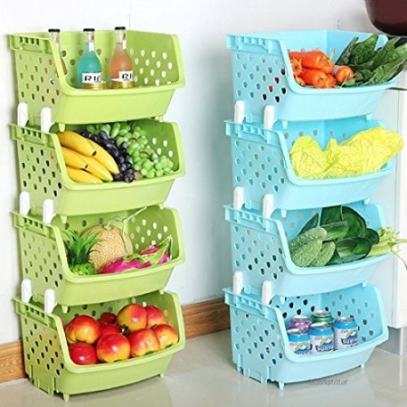 Stylish Fruit Or Vegetable Rack & Is Hollow