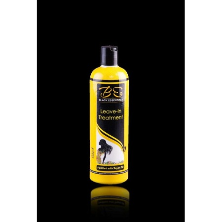 BLACK ESSENTIALS Leave-in Treatment Fortified With Argan Oil