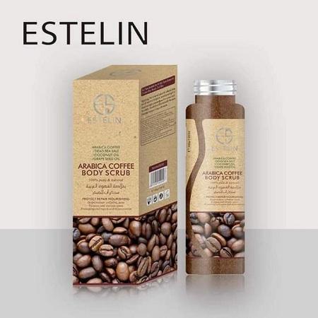 Dr. Rashel Estelin Arabica Coffee Body Scrub