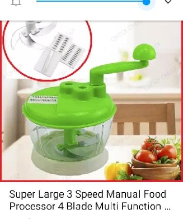 Meat Grinder Vegetable Chopper Household Manual