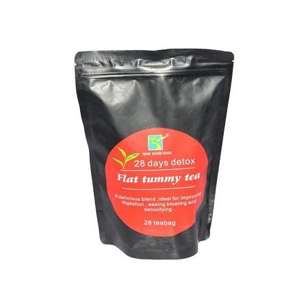 Flat Tummy Tea 28 Days Detox Flat Tummy Tea With Moringa