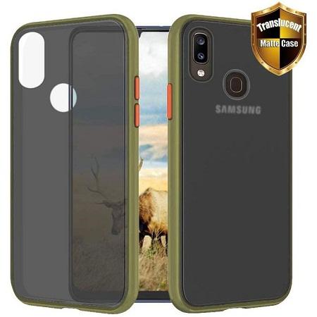 TPU Samsung Galaxy A30 Case Galaxy Hybrid Green