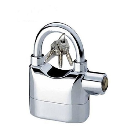 Kin Bar Security Alarm Pad Lock