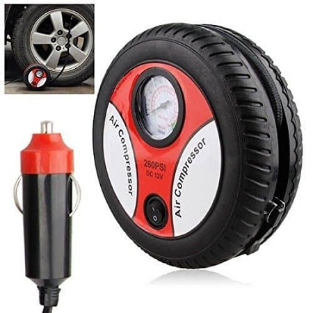 Portable tyre inflator