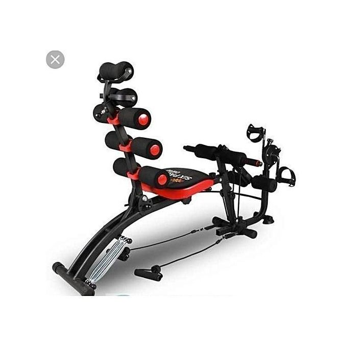 Six Pack Care Six Pack Care ABS Fitness Machine With Pedals