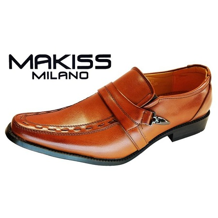 Milano Men Official Shoes/7179-9 (TAN)