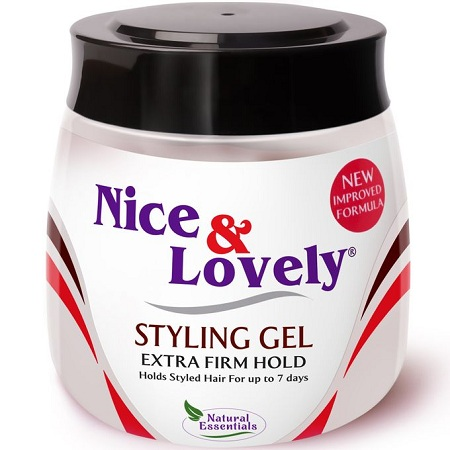 Nice & Lovely Extra Firm Hold Styling Gel 135g