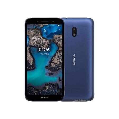 Nokia C1 Plus, 5.45 Inch 1GB+16GB, 5MP, 4G Dual Sim, 2500MAh - Blue