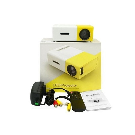 Generic LED Mini Home Projector HD 1080P Images+ Free 32GB SD Card